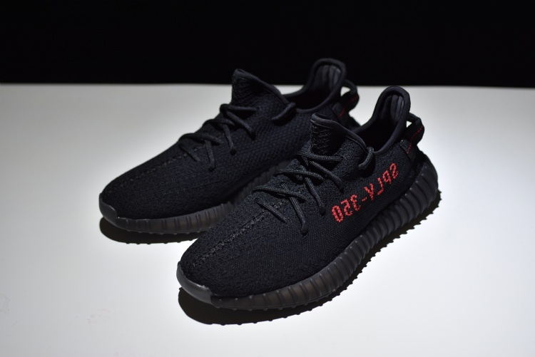"Yeezy Boost 350 V2 ""Black/Red""(CP9652)Core Black/Core Black-Red"