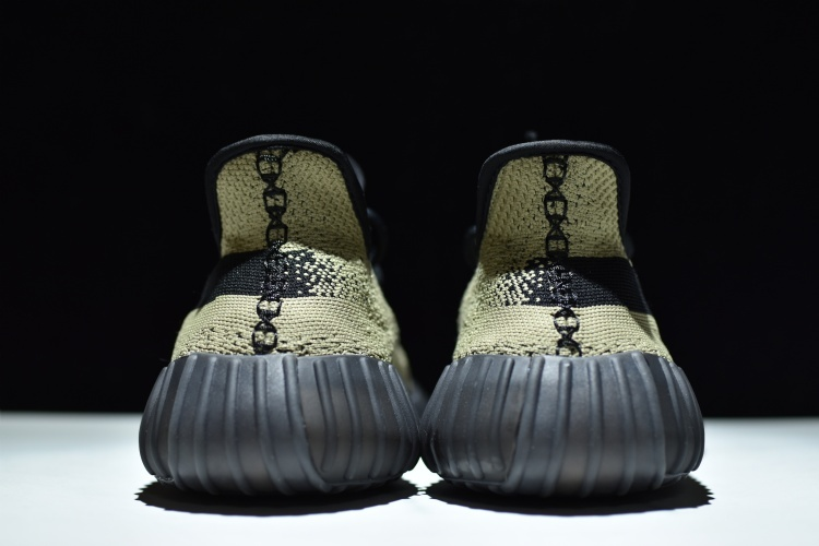 Adidas Yeezy Boost 350 V 2 Replica BY 9611 Black Green Real Boost