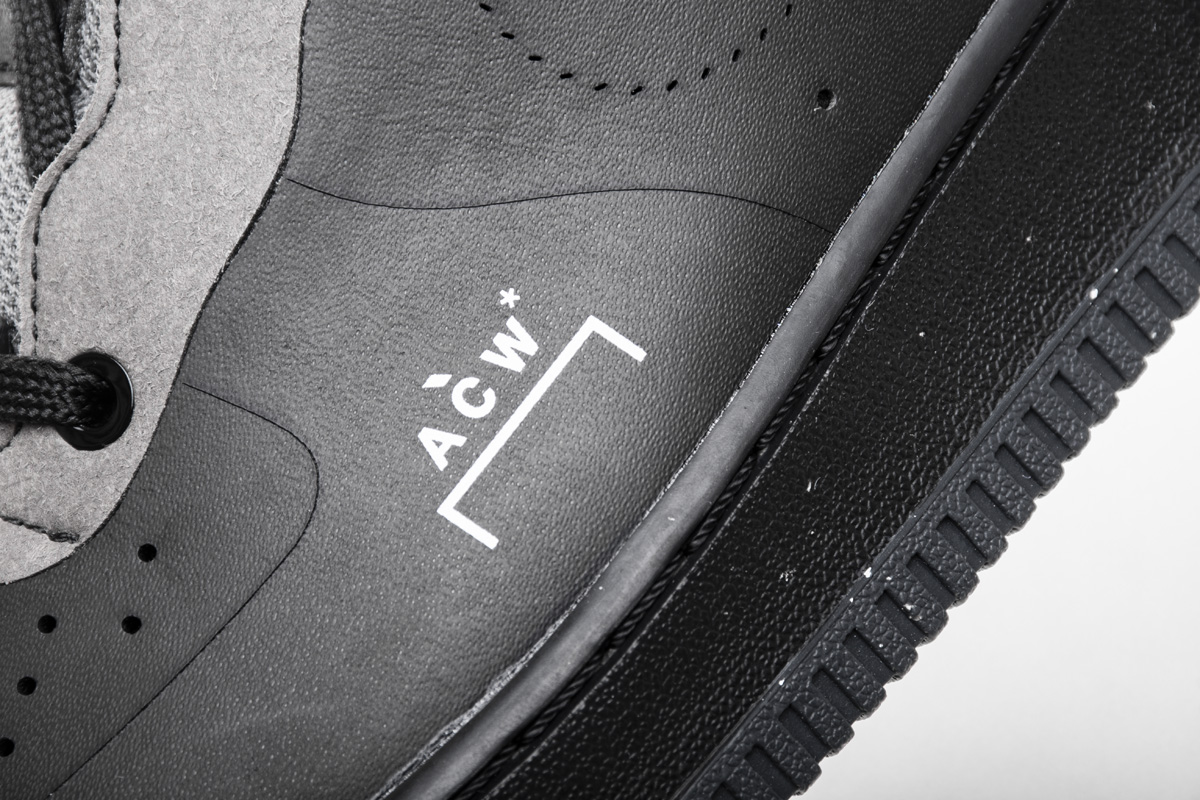 A-Cold-Wall* x Air Force 1 Low 'Black' BQ6924 001 - Click Image to Close