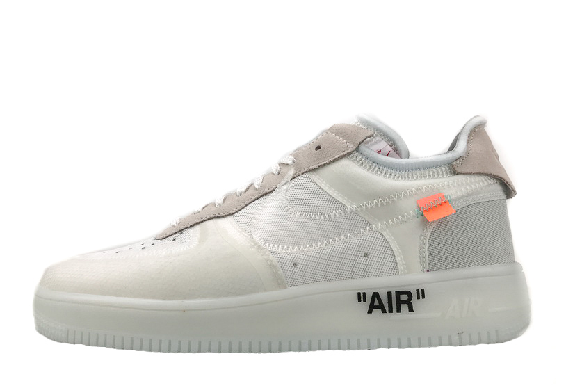 "The 10:""Off White"" x Air Force 1 Low 'White' AO4606 100"