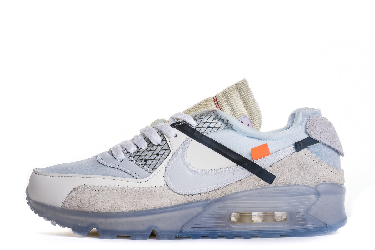 The 10: OFF-WHITE x Air Max 90 'Ice' AA7293 100