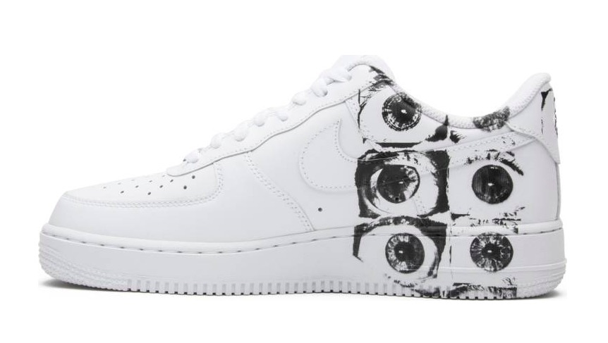 cheap for discount 709d2 12a58 Comme des Garçons x Supreme x Air Force 1 Low 923044 100 ...