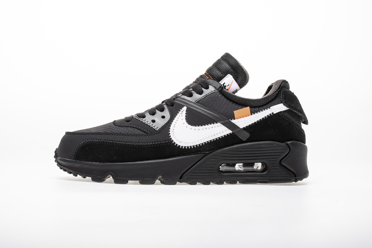 OFF-WHITE x Air Max 90 'Black' AA7293 001