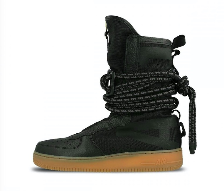 SF Air Force 1 High 'Black Gum' AA1128 001