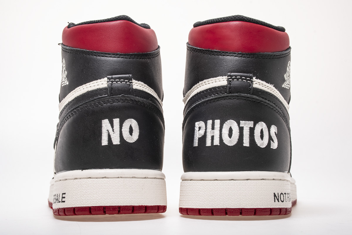 Air Jordan 1 Retro High OG NRG 'Not For Resale' 861428 106 - Click Image to Close