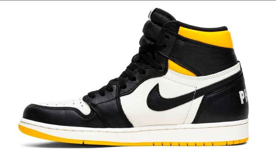 Air Jordan 1 Retro High NRG 'Not For Resale' Yellow 861428 107