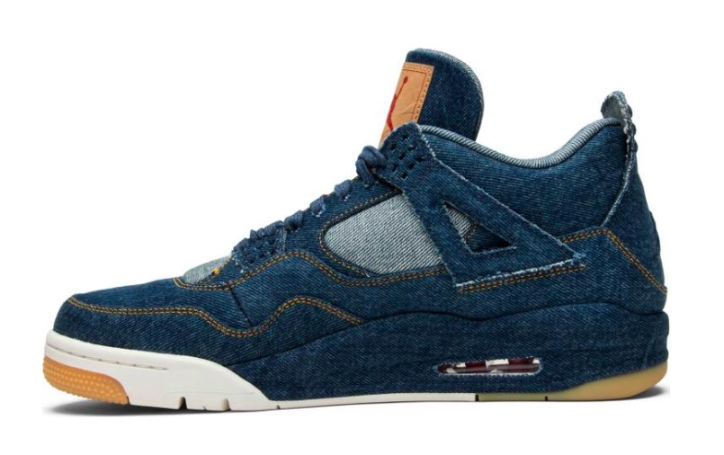 Levi's x Air Jordan 4 Retro 'Denim' AO2571 401