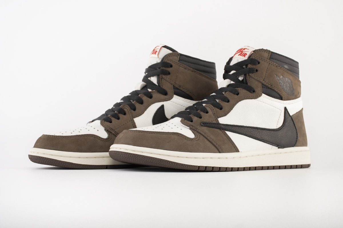 Travis Scott x Air Jordan 1 Retro High OG 'Mocha' CD4487 100