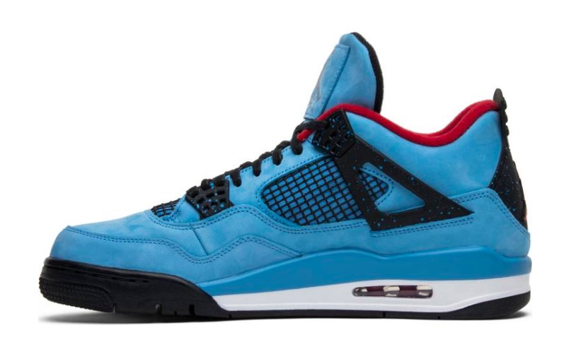 Travis Scott x Air Jordan 4 Retro 'Cactus Jack' 308497 406