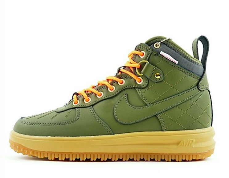 Lunar Force 1 Duck Boot 'Army green' 805899