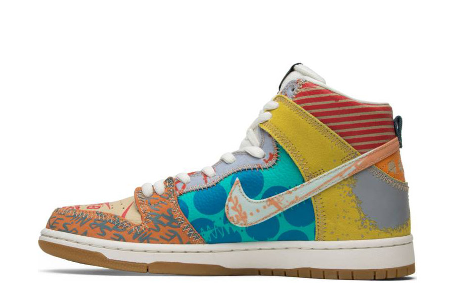 Thomas Campbell x SB Dunk High 'What The' 918321 381