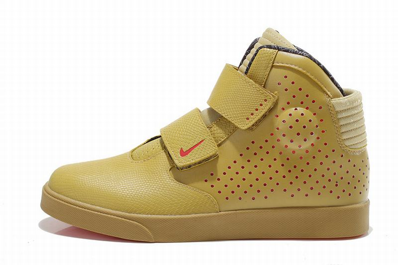 Nike Flystepper 2K3 Premium Mens Shoes Gold Red