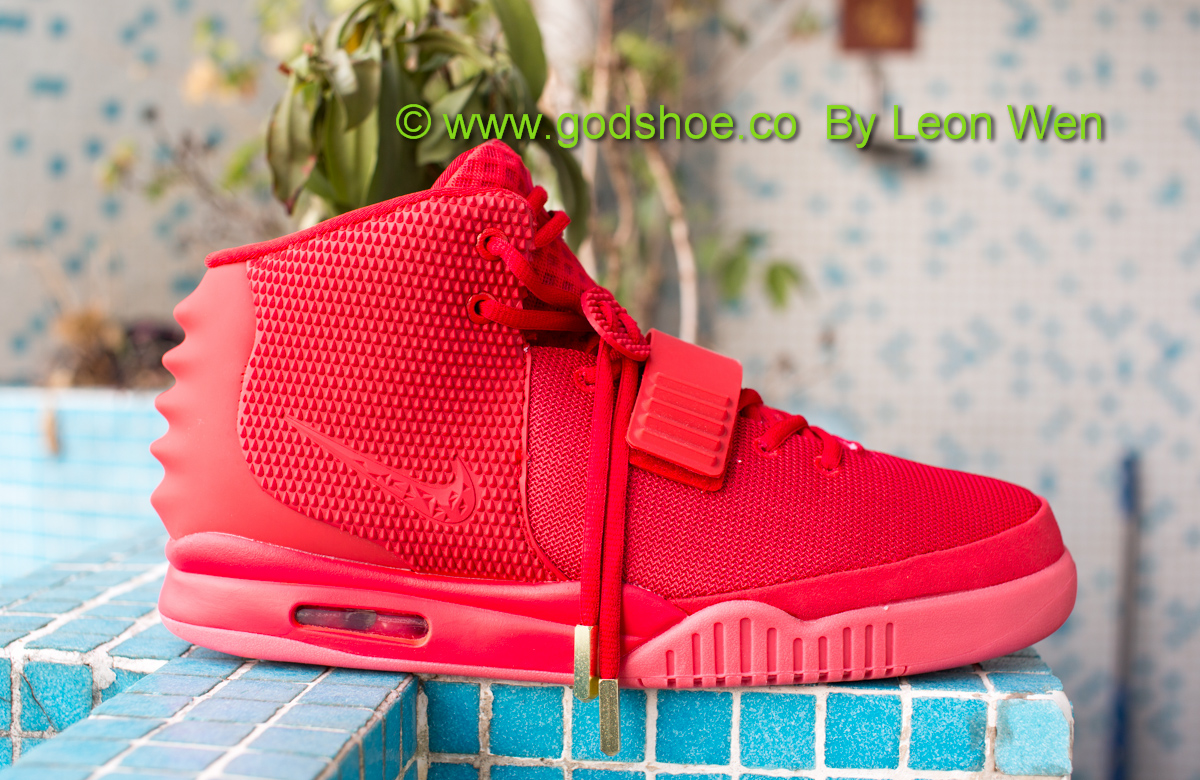 Air Yeezy II Red October Glow in the Dark