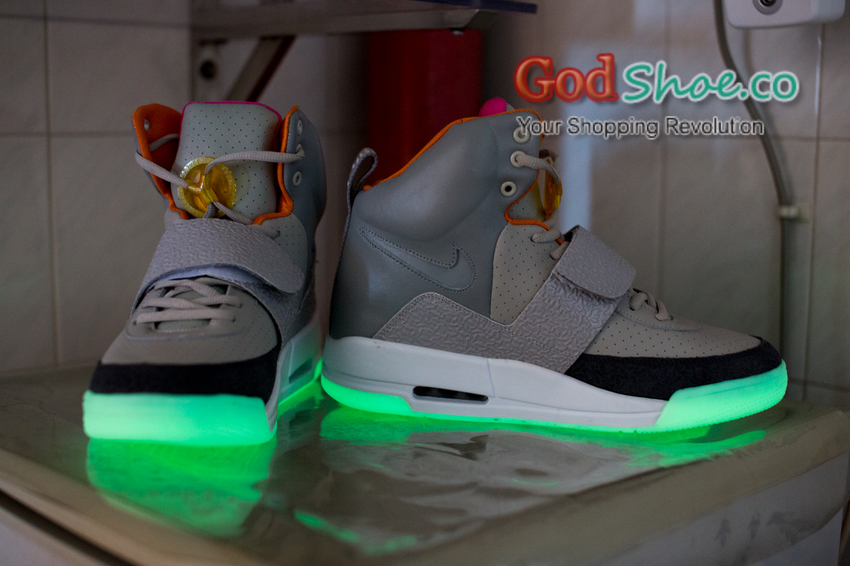 Air Yeezy Zen grey/light charcoal New Batch 2013