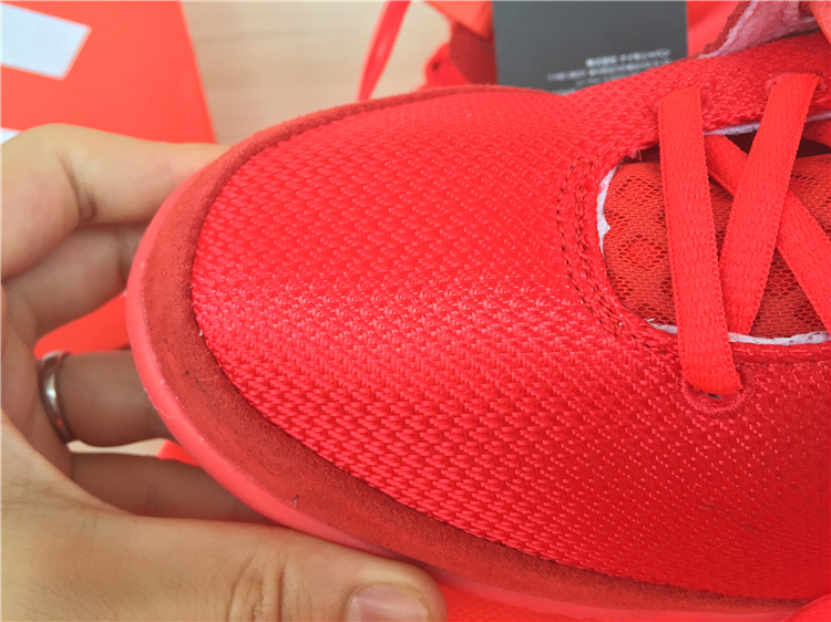 Super Perfect Air Yeezy 2 Red October Glow In The Dark