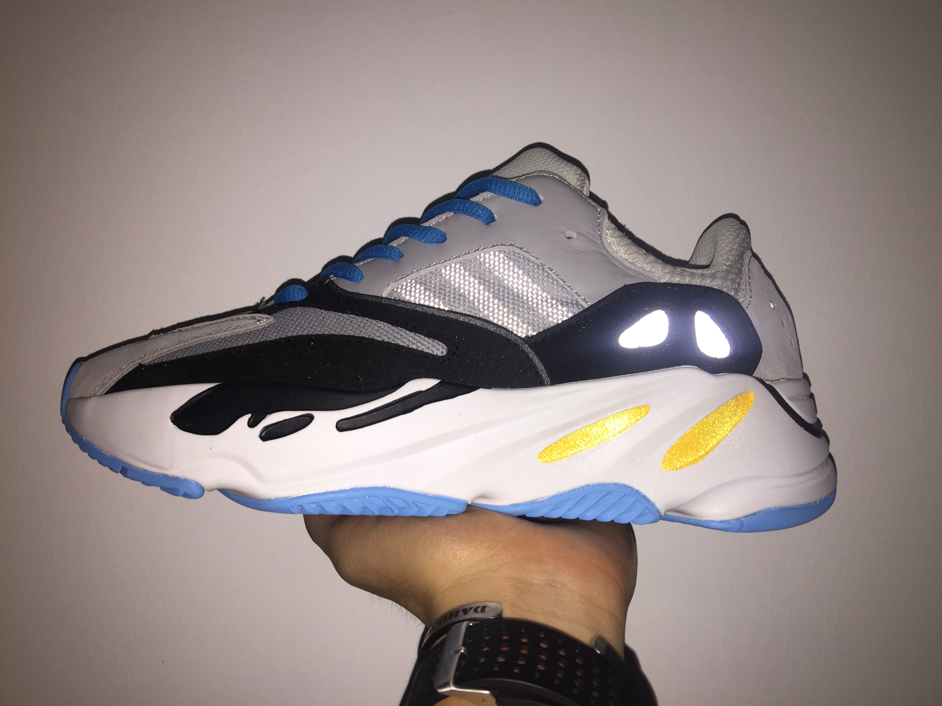 Yeezy Wave Runner 700 Grey Blue - Click Image to Close